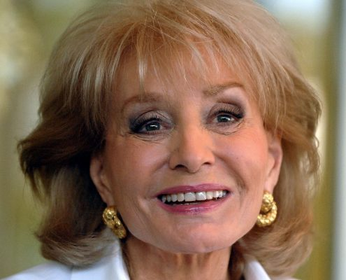 "CORAL GABLES, FL - MAY 20:  Barbara Walters attends a signing for her book ""Audition"" at Temple Judea on May 20, 2008 in Coral Gables, Florida.  (Photo by Gustavo Caballero/Getty Images)"