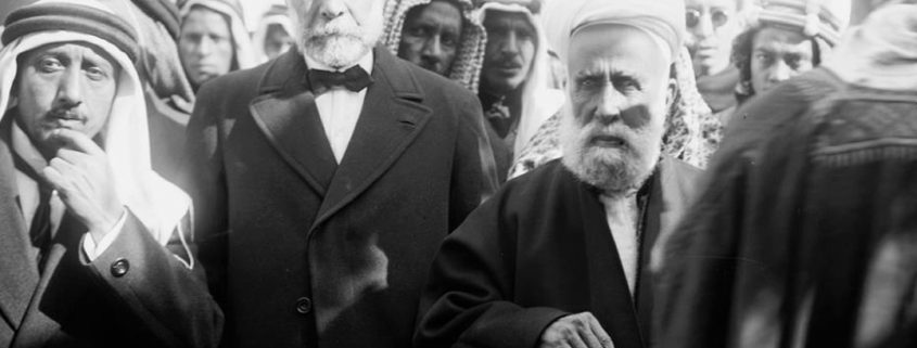 Sharif Hussein Ibn Ali, the emir of Mecca who launched the Great Arab revolt in 1916.
