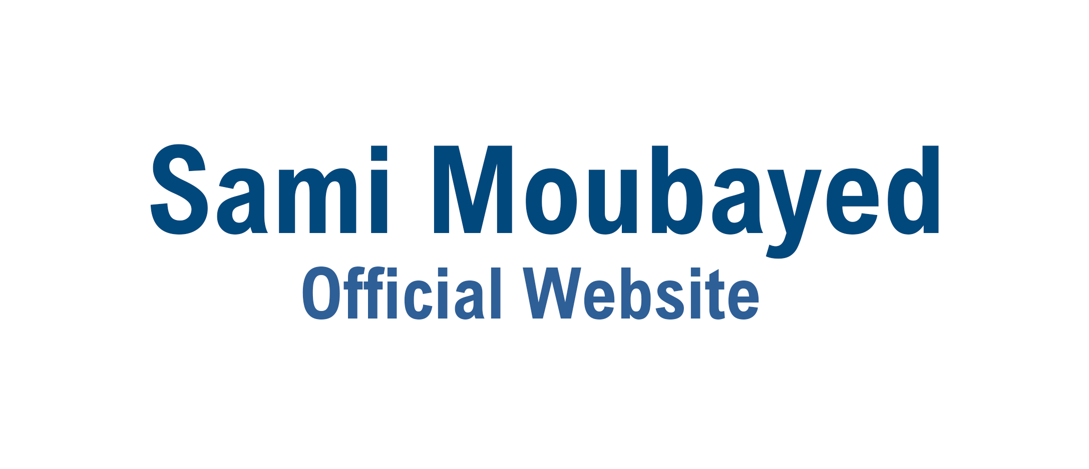 Sami Moubayed Official Page