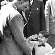 President Gamal Abdul Nasser with Abdul Fattah al-Sisi in the early 1960s.