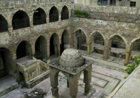 The old synagogue of Aleppo.