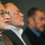 Leaders of the Syrian Muslim Brotherhood in 2011