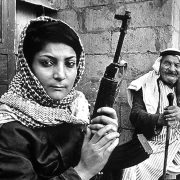 The legendary Leila Khaled in the late 1960s