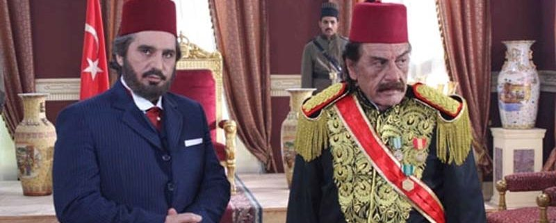 Syrian actor Abbas Al-Nouri as Sultan Abdul Hamid in 2010.